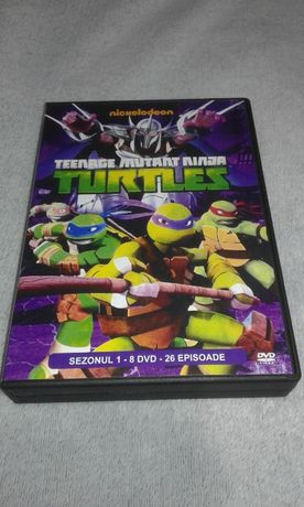 Teenage Mutant Ninja Turtles - Testoasele Ninja - 24 DVD desene animat