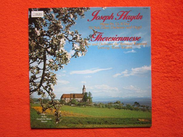 """vinil rar Haydn - Missa Nr.2 """"Theresienmesse""""-conductor Klaus Reiners"""
