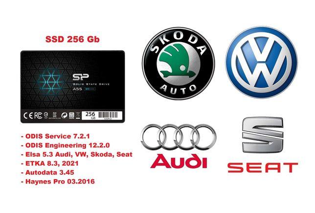 SSD pt Vas5054 ODIS Service 7.2.1 ODIS Engineering 12.2.0, Elsa , Etka