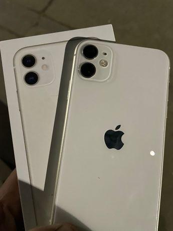IPhone 11 white  100%