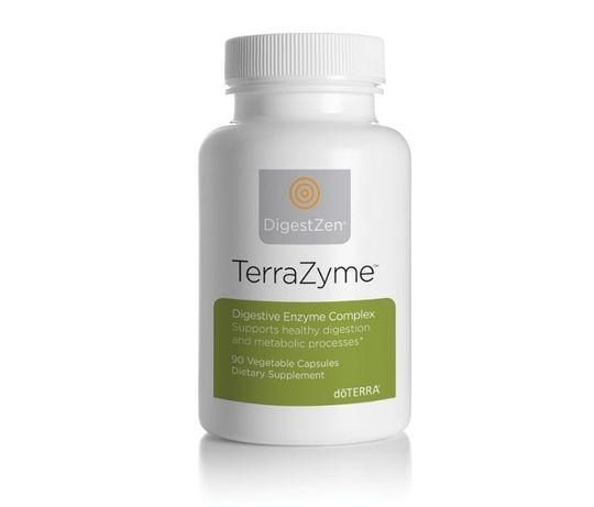 TerraZyme doTERRA - Complex de enzime digestive - 90 capsule