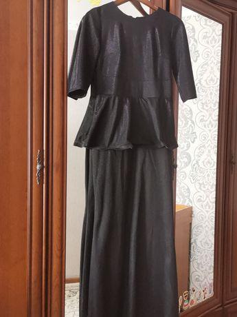 Продам вечернее платье с баской