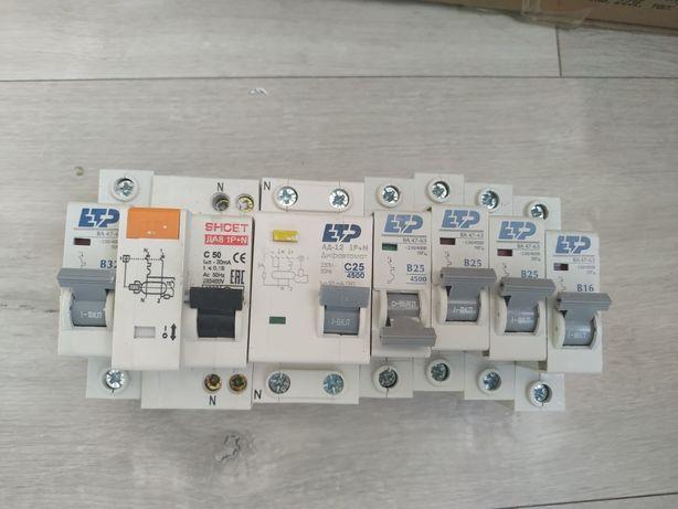 Автоматы для электрощитка