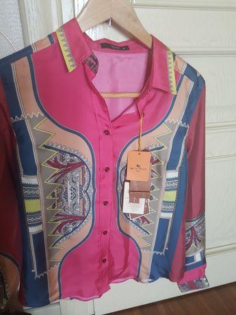 Блузка Etro  новая шёлковая Италия,брюки Apriori Германия Etro Италия