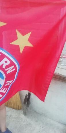 За фенове на ФК Байерн Мюнхен футбол спорт знаме значка стикери