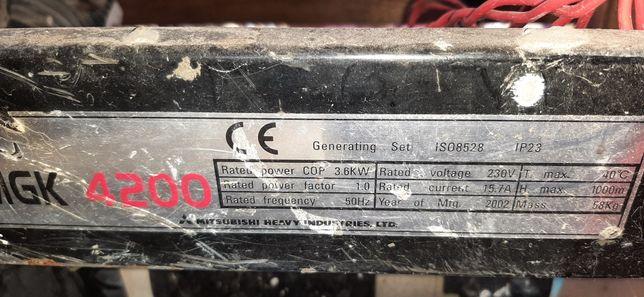 Generator curent Mitsubishi
