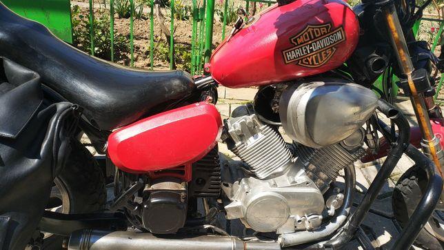 Motocicleta mini Harley Davidson