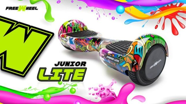 -40 % Reducere, Freewheel Junior Lite Graffit. Scooter Electric NOU