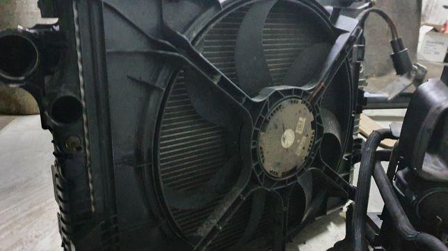GMW Electroventilator radiator motor Mercedes ML320 ML280 ML350 W164