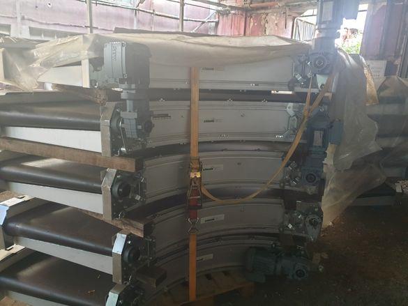 Транспортни ленти тип завой -налични на склад