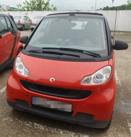 Smart fortwo, cabrio, an 2007