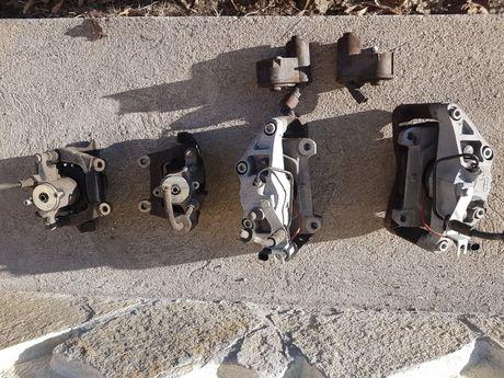 Спирачни апарати,мотор ръчна спирачка модул ръчна Ауди Audi A6 4F/C6