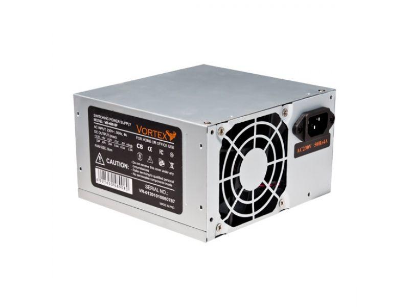 Vortex VR-4008F, 400Wt. Главный Разъем Питания 24 PIN(x1), ATX 12V CPU