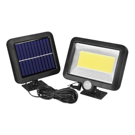 Мощен Соларен Прожектор с отделен соларен панел с кабел 5м.