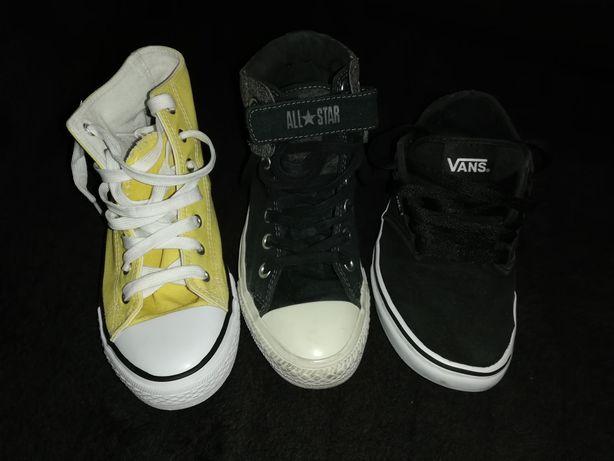 Adidas Vans și Converse