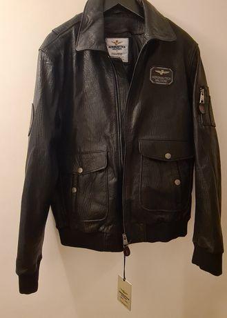 Vând jachetă piele pilot AERONAUTICA