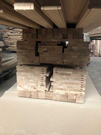 Scari din lemn de fag sau stejar - trepte, contratrepte, balustri
