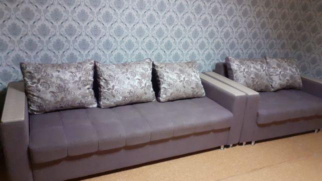 Продам диван и малый диван хорошего состояние.