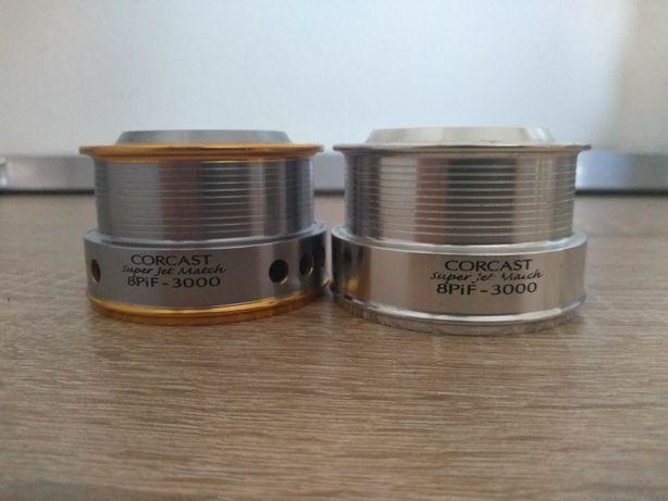 Vand/schimb 2 tamburi aluminiu cormoran corcast 8pif- 3000
