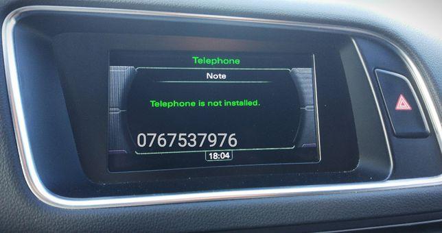 Activare Telefon Bluetooth - Audi A4,A5,A6,Q5 - Volkswagen Touareg