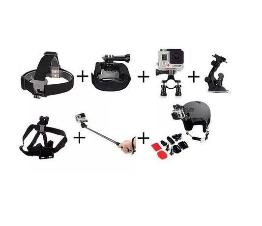 7 в 1 комплект аксесоари за екшън камери gopro и други   hdcam.bg