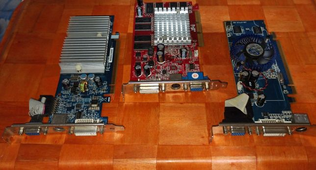 Placi video AGP x8 si PCI Express