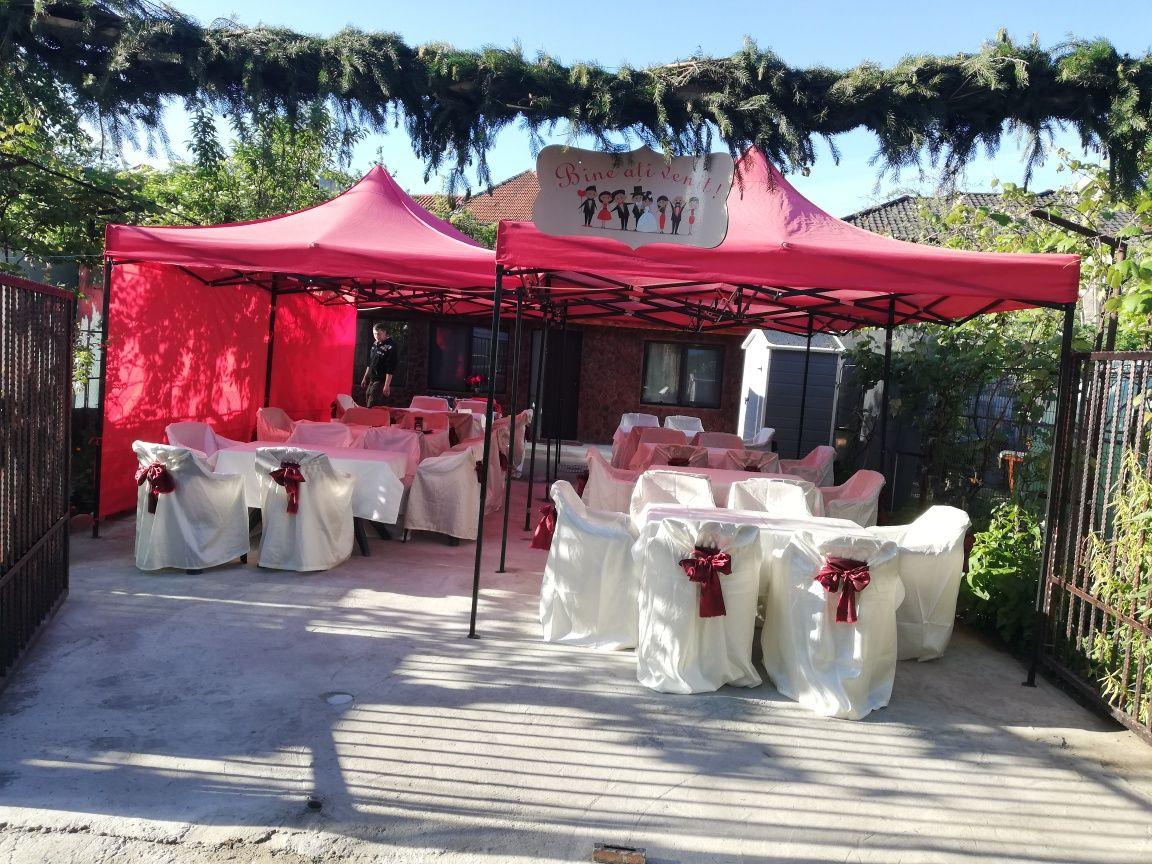 Corturi de închiriat pentru evenimente: nunti/botezuri/aniversari