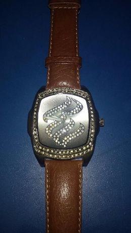 ceas Time Zone cu cristale Svarovski