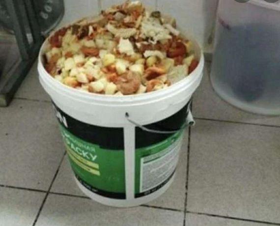 Заберу пищевые отходы для собак