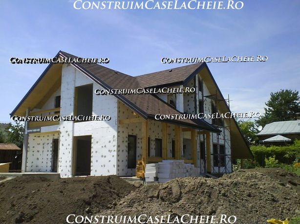 Constructii case la rosu sau la cheie, Renovari, Apartamente si Case