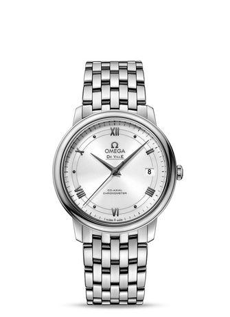 Часовник Omega De Ville Prestige 36.8 White Dial