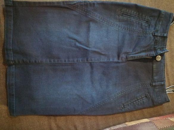 Дамска дънкова пола