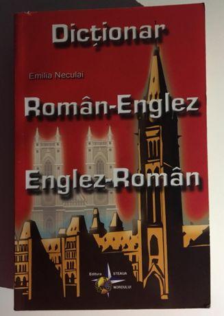 Dictionar - dublu Roman - Englez, Englez - Roman - de Emilia Neculai