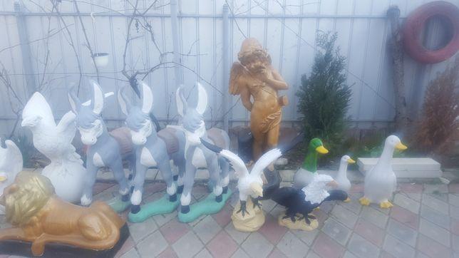 Statui/ghivece/decorațiuni grădina
