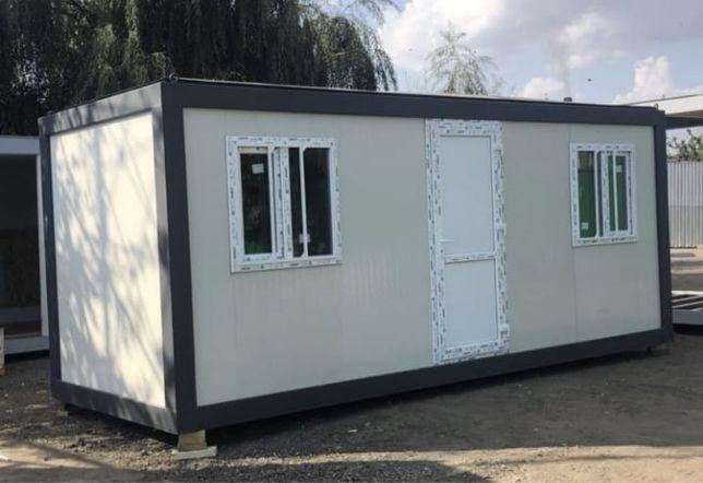 Vând containere modulare tip birou 2,40x3  2,40x4  2,40x5  2,40x6  Fac