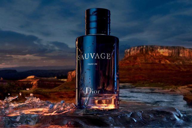 Sauvage parfum 100ml оригинальный тестер.