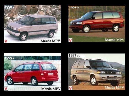 Mazda MPV запчасти