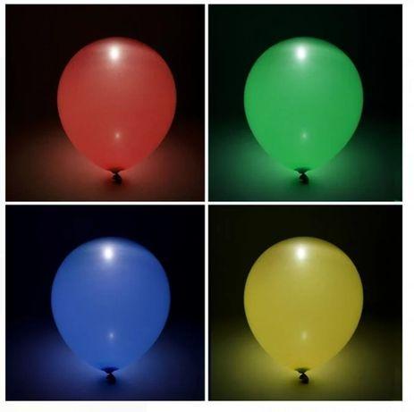 Baloane LED in interior / 4 buc