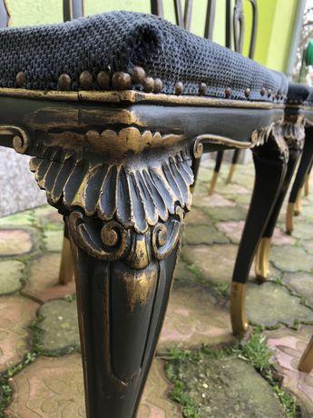 Set 6 scaune din lemn masiv