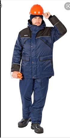 Продам спецодежду зимнюю (куртка+комбез) Монблан.
