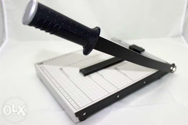 Продам резак/гильотина сабельный для бумаги А4/А3, новый в упаковке.