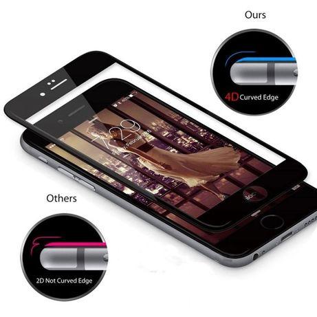 5D Стъклен протектор за iPhone 6 / 6S / 7 / 7 Plus / 8 / X 4D 3D