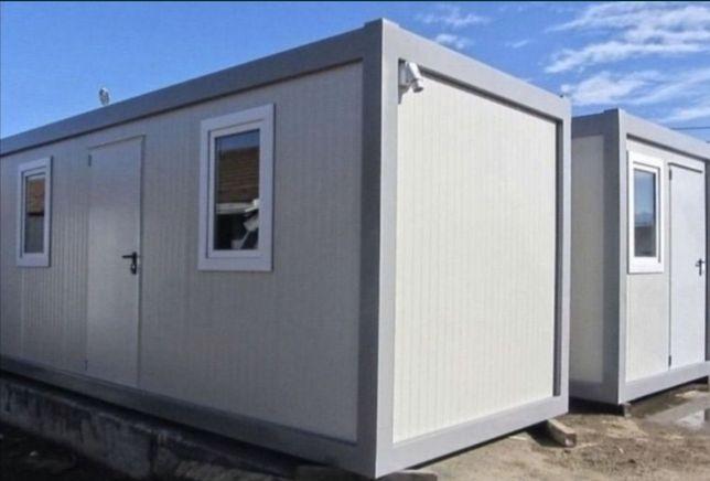 Container Containere birou magazin santier modulare 6X2,4 standard