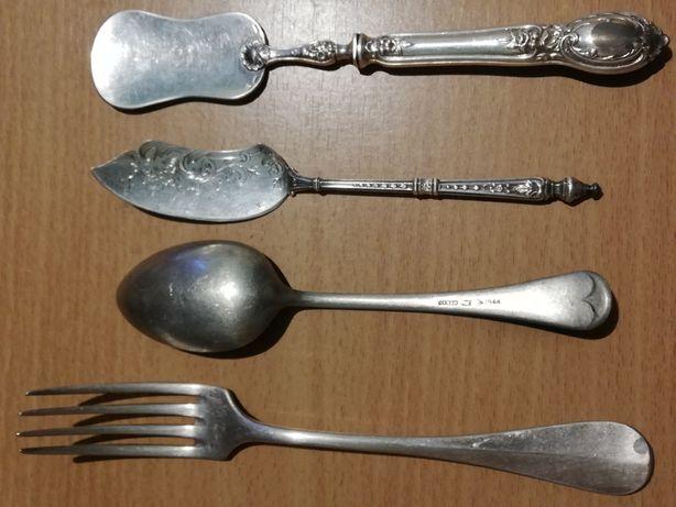 Tacâmuri vintage de firmă argintate