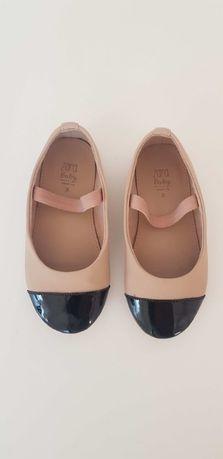 Zara кожени обувки 24 номер