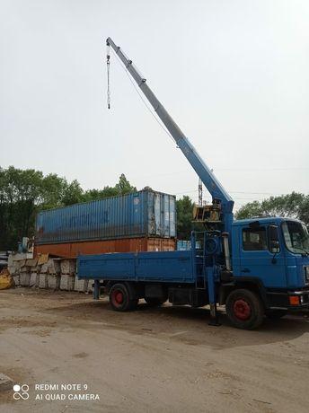 Услуги манипулятора   контейнер 20 тонни