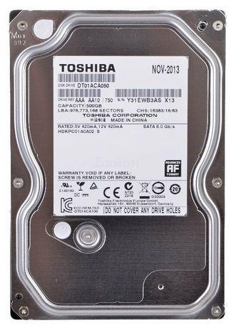 Hdd 500 GB Toshiba