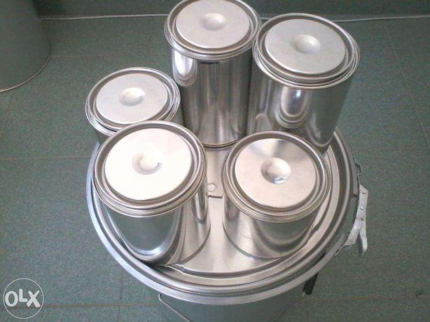 Cutii TABLA ,Cutie metal zincata / volum 0,5L,0,75,,1L,2,5L,4L,21L