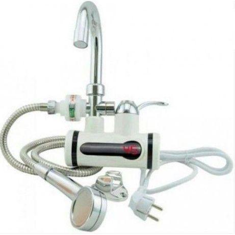 Электрический проточный кран водонагреватель с душем