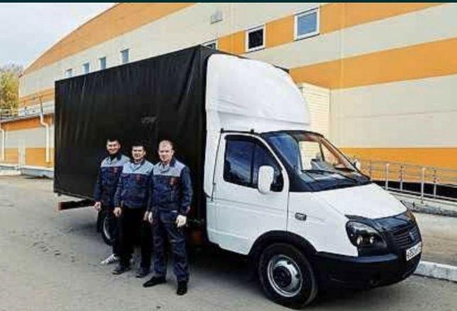 Газель грузоперевозки недорого грузчики от 2000 тг переезд вывоз